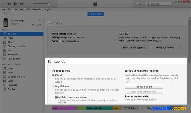 Cách hạ iOS 11 xuống iOS 10.3.3 nhanh nhất