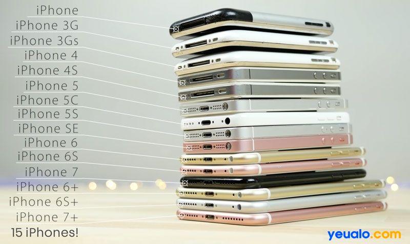 iPhone có thẻ nhớ không đang là câu hỏi chung của những bạn khi mới sử dụng dòng điện thoại này