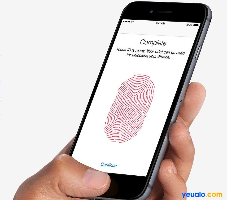 Cách sửa lỗi điện thoại iPhone không nhận vân tay