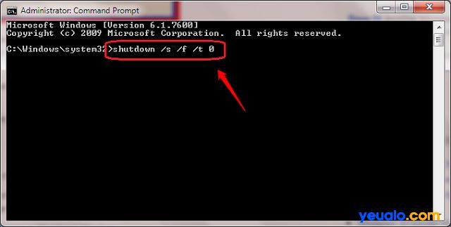 Hủy tính năng Fast Bootop để tắt máy tính Win 10