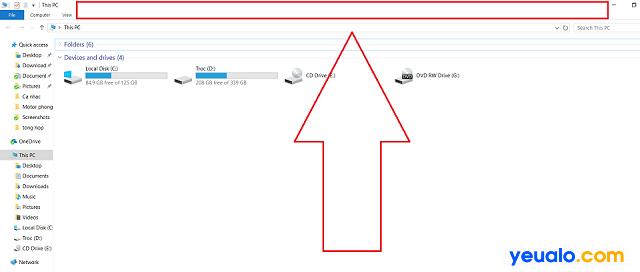 Phóng to màn hình bằng cách Click đúp chuột phía trên thanh công cụ