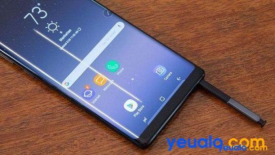 Khắc phục lỗi màn hình Samsung Note 9 bị sọc ngang