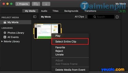 Tách âm thanh video trên macOS