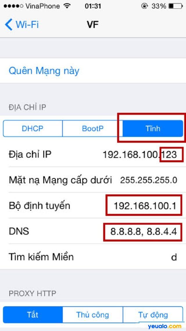 Thay đổi băng tần nhận sóng trên điện thoại thành 5 Ghz