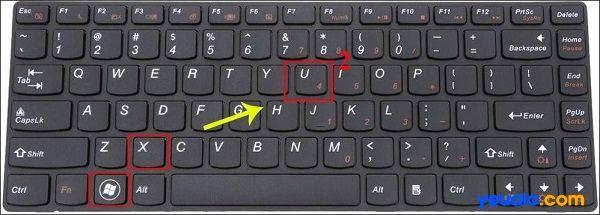 Cách tắt máy tính bằng bàn phím trên Win 7, Win 8, Win 10, Win XP …