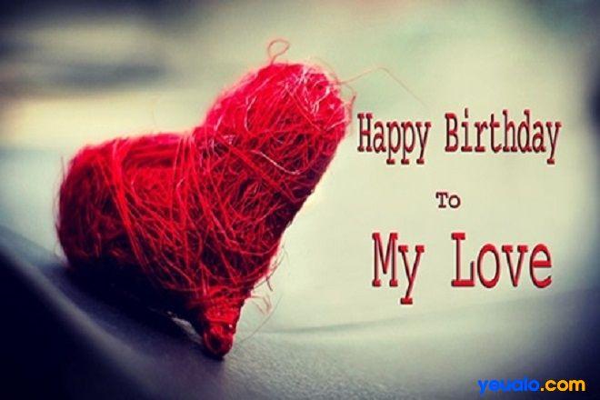 Lời chúc mừng sinh nhật người yêu con trai hay và ý nghĩa nhất