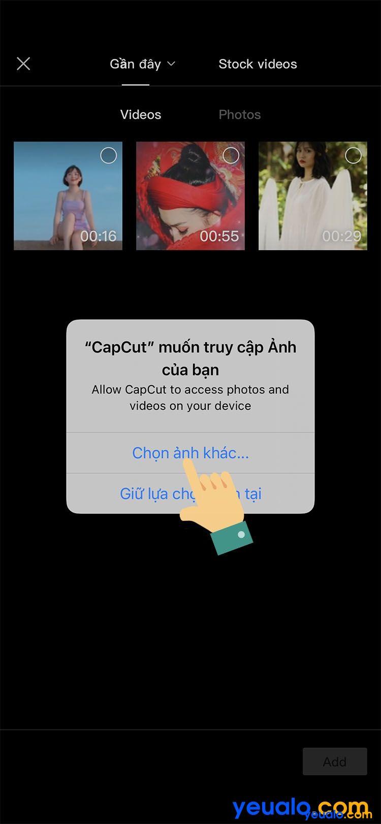 Cách ghép giọng chị Google vào video TikTok trên iPhone 5