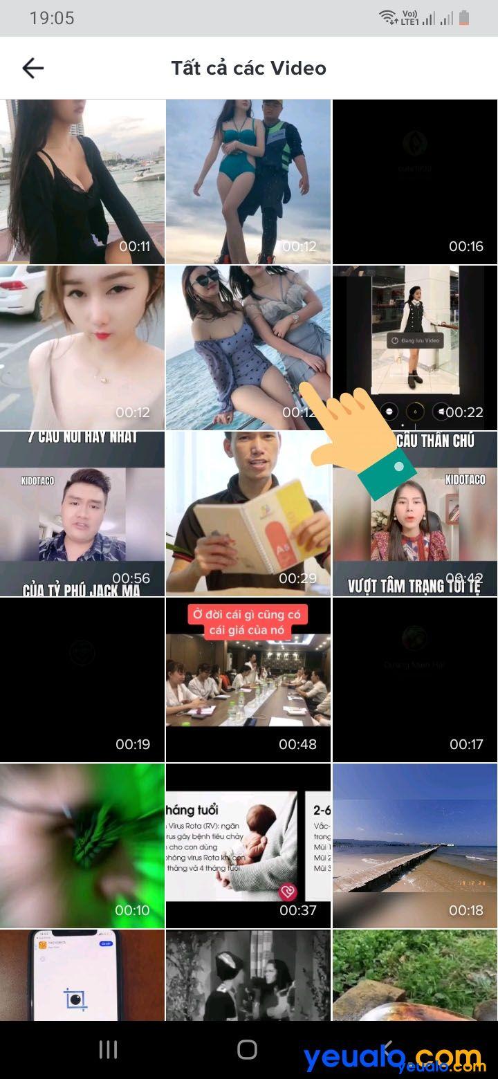 Cách đặt ảnh đại diện TikTok bằng video ảnh động 4