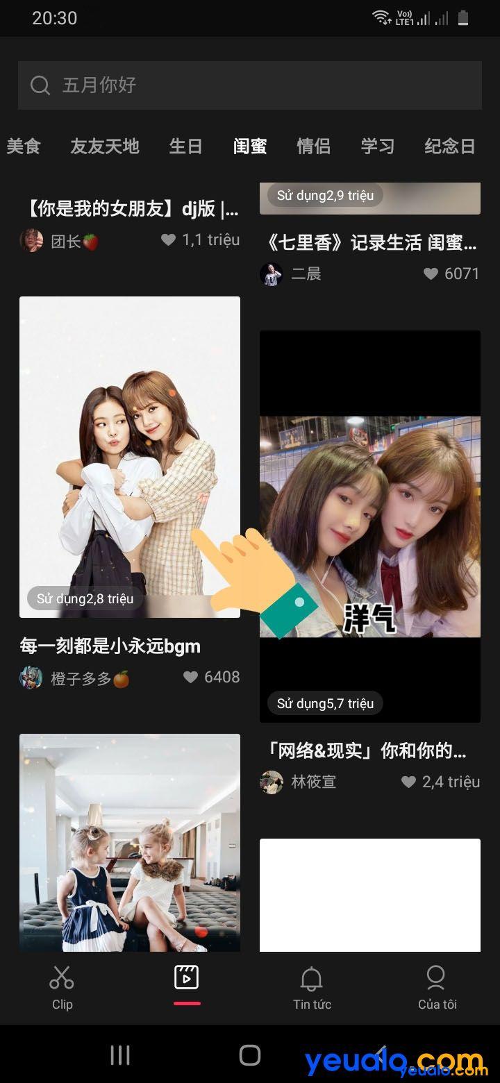 Cách làm video JianYing với hiệu ứng đẹp 2