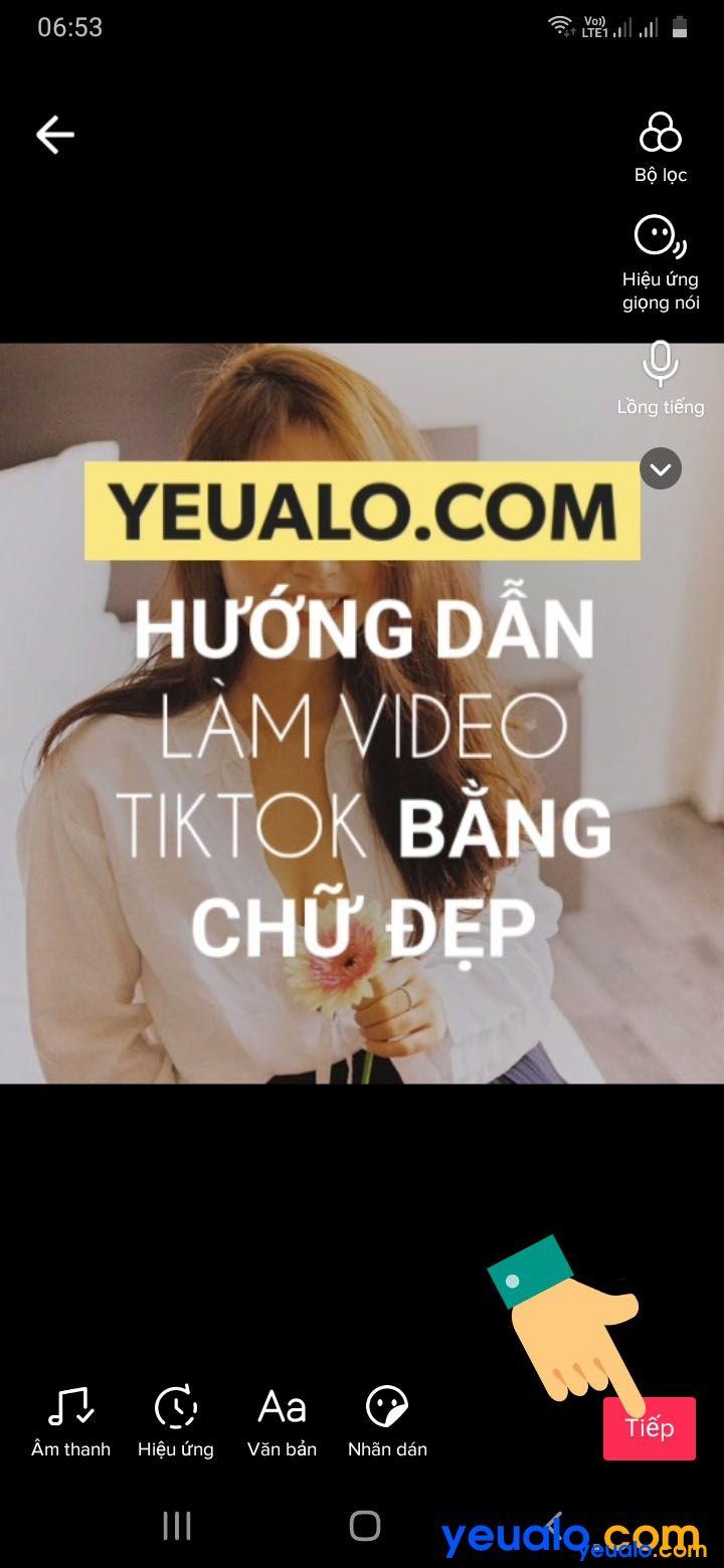 Cách ghép nhạc vào video TikTok bằng chữ 14