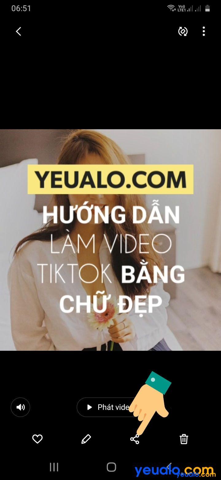 Cách ghép nhạc vào video TikTok bằng chữ 9