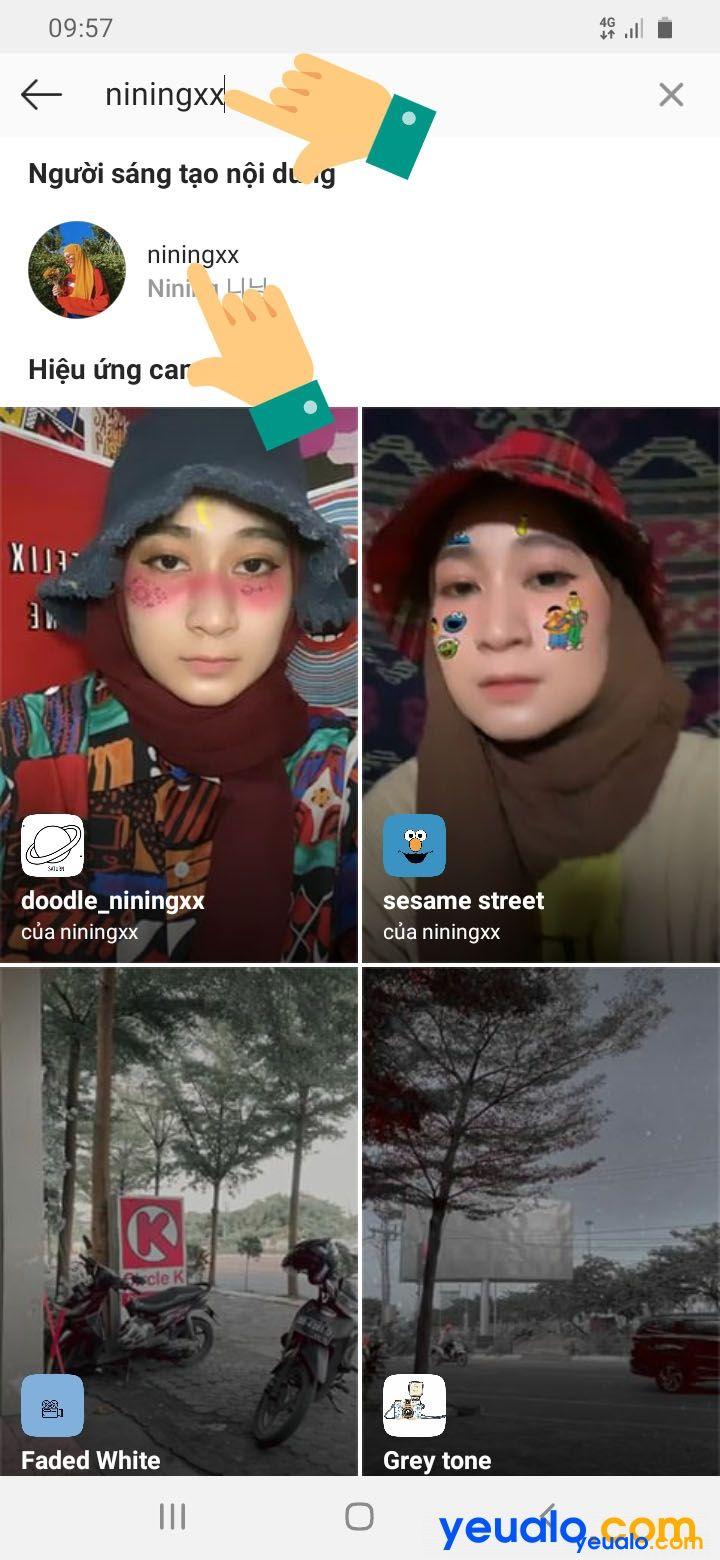 Cách quay video hình 3 con gấu trên instagram TikTok 5