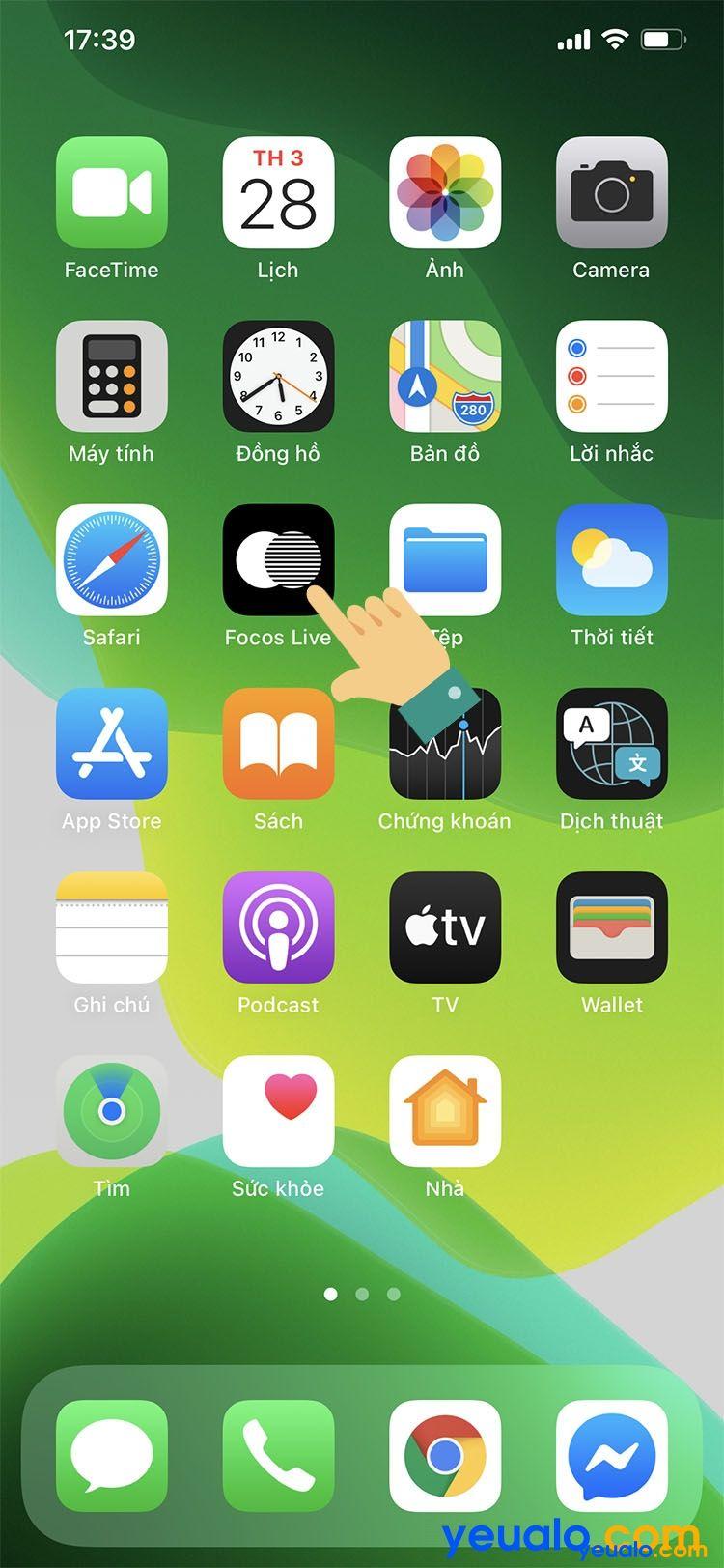 Cách quay video xoá phông trên iPhone