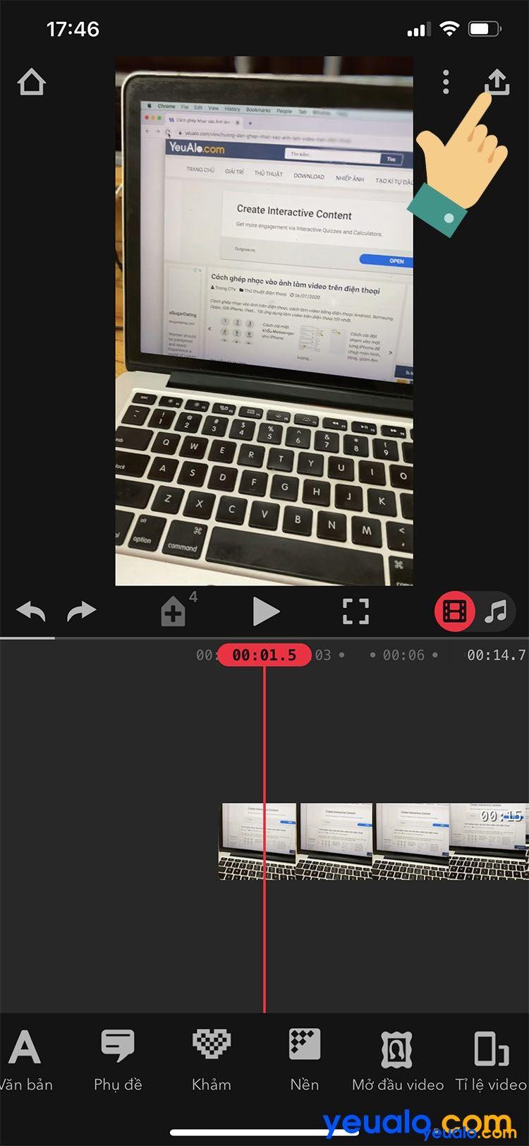 Cách quay video xoá phông trên iPhone 6