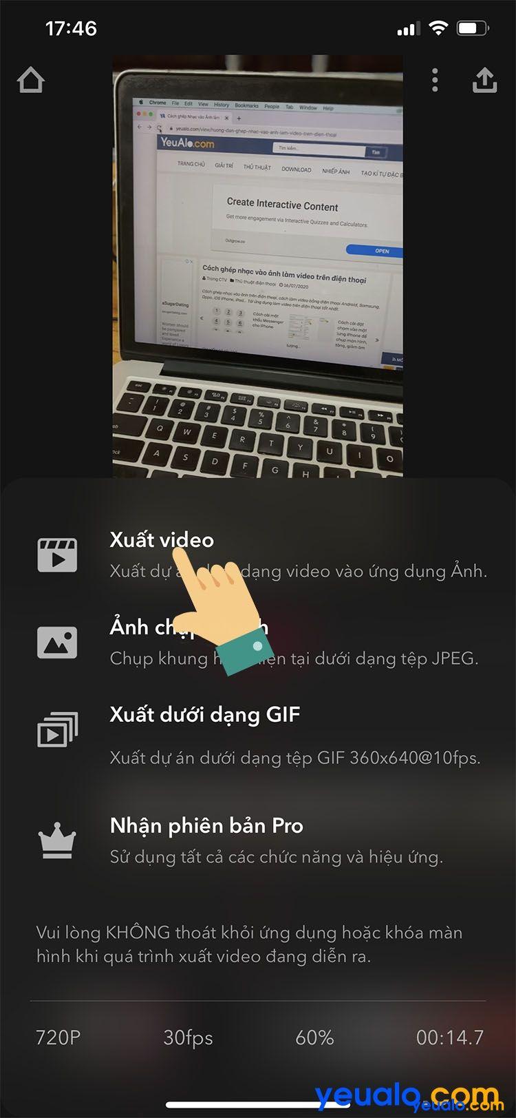Cách quay video xoá phông trên iPhone 7