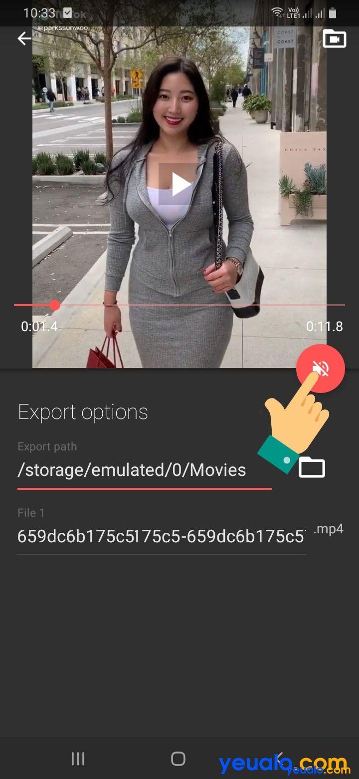 Cách tách nhạc ra khỏi video bằng điện thoại 3