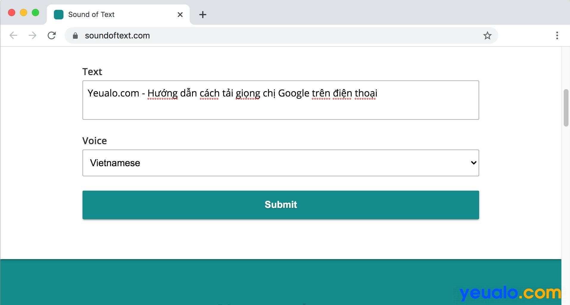 Cách tải giọng chị Google dịch trên máy tính
