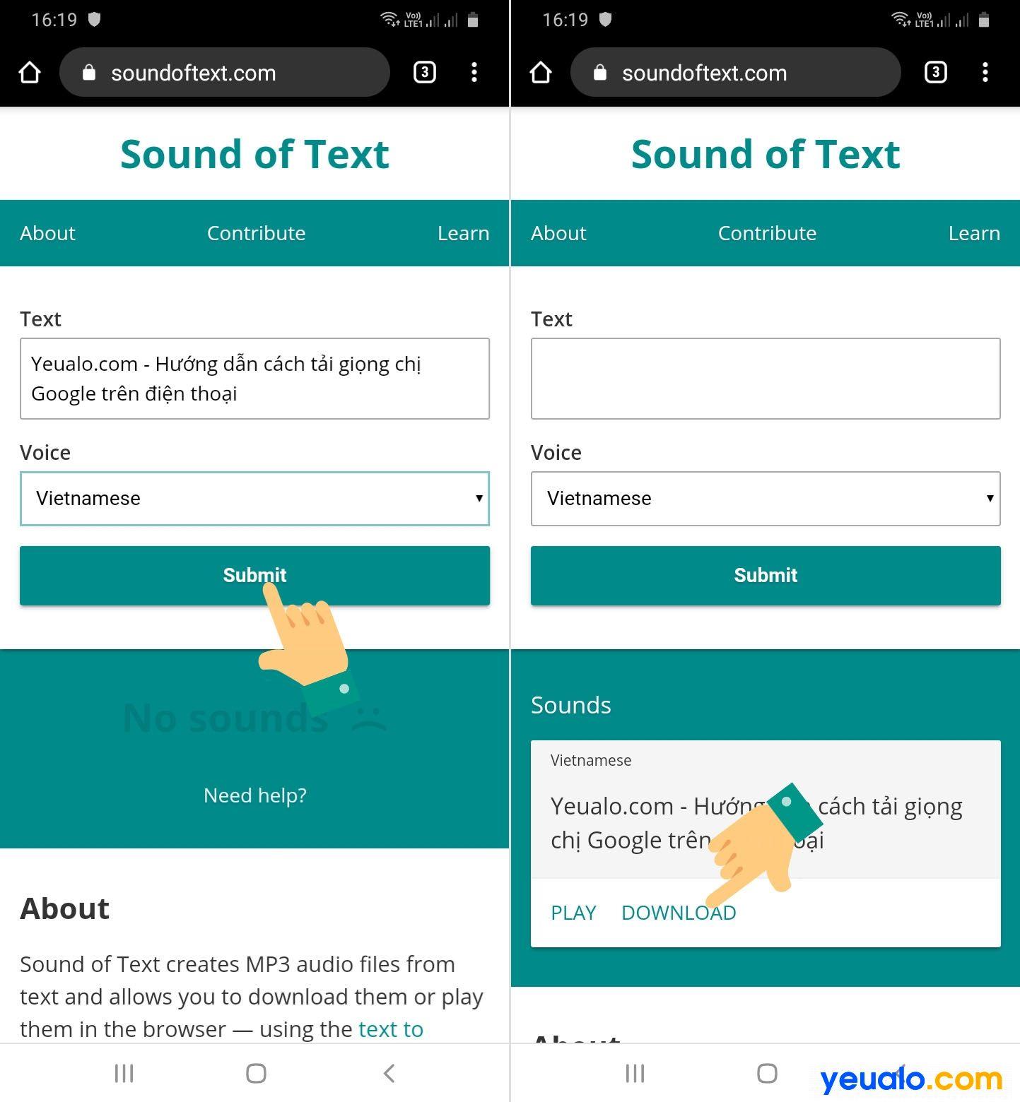 Cách tải giọng chị Google trên điện thoại