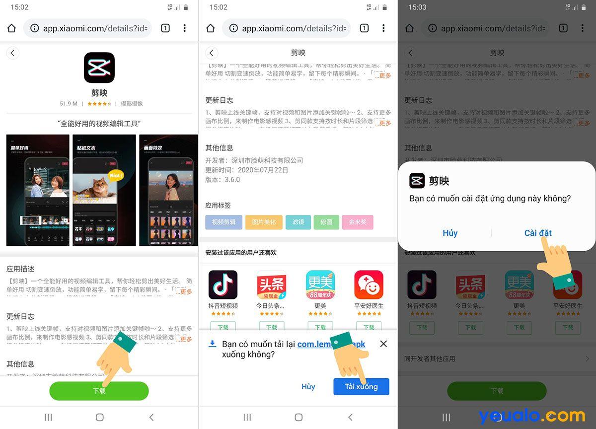 Tải ứng dụng JianYing